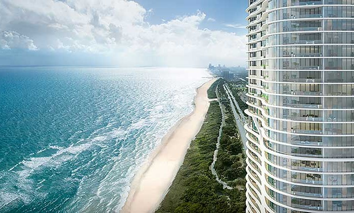 Ritz-Carlton Residences - new developments at Sunny Isles Beach